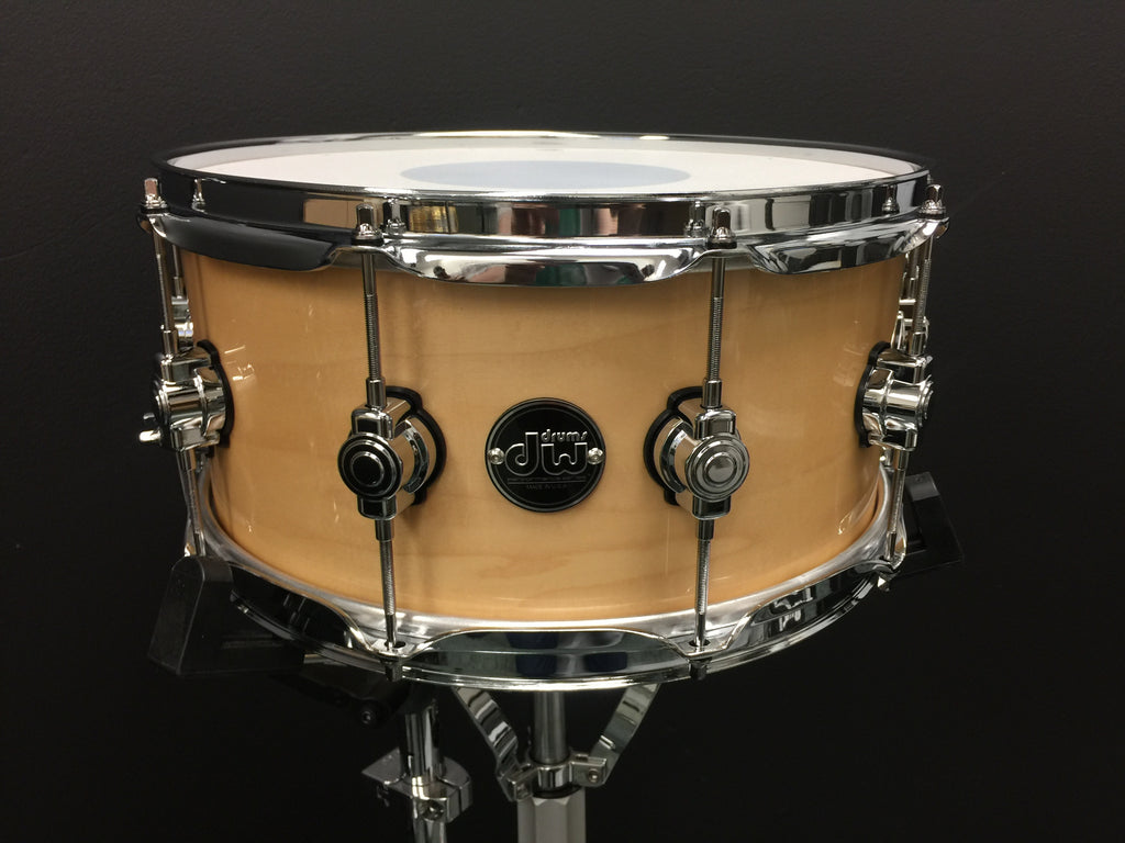 DW Natural Finish Performance Series Snare