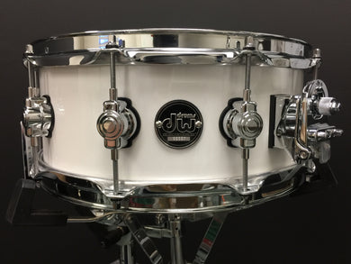 DW White Ice Performance Series Snare