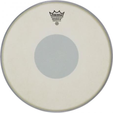 "Remo 10"" Emperor X Coated Black Dot Drumhead"