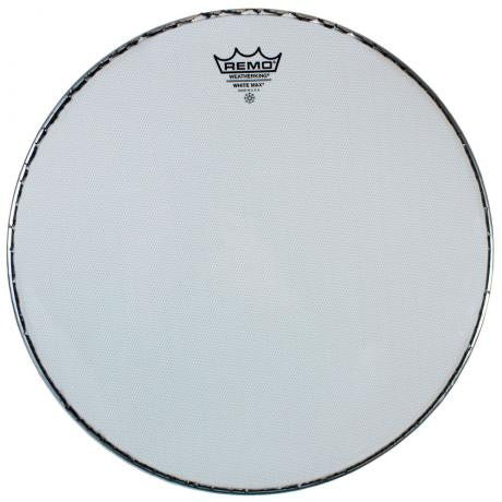 "Remo 14"" White Max Marching Snare Drum Top Head (Batter)"