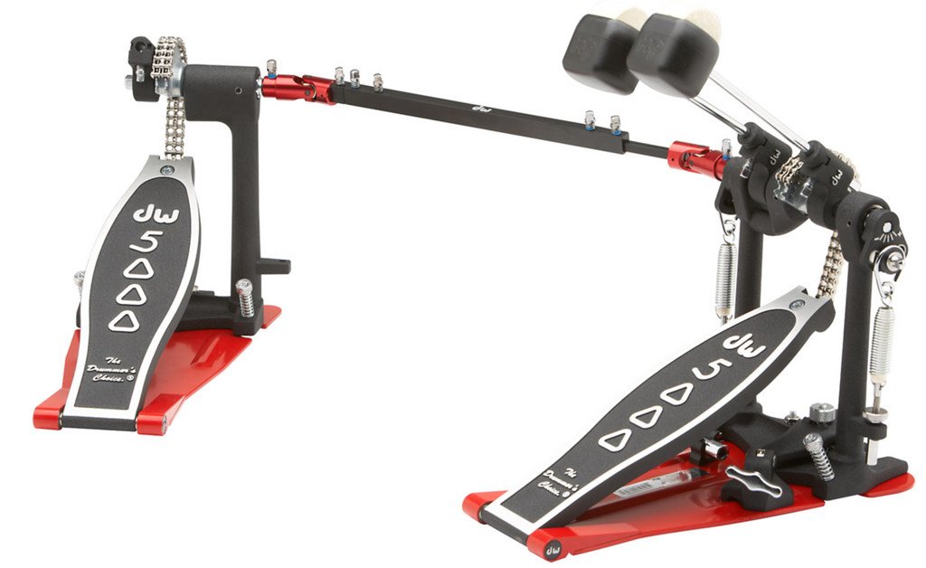 DW 5000 Series Heel-less Double Bass Drum Pedal