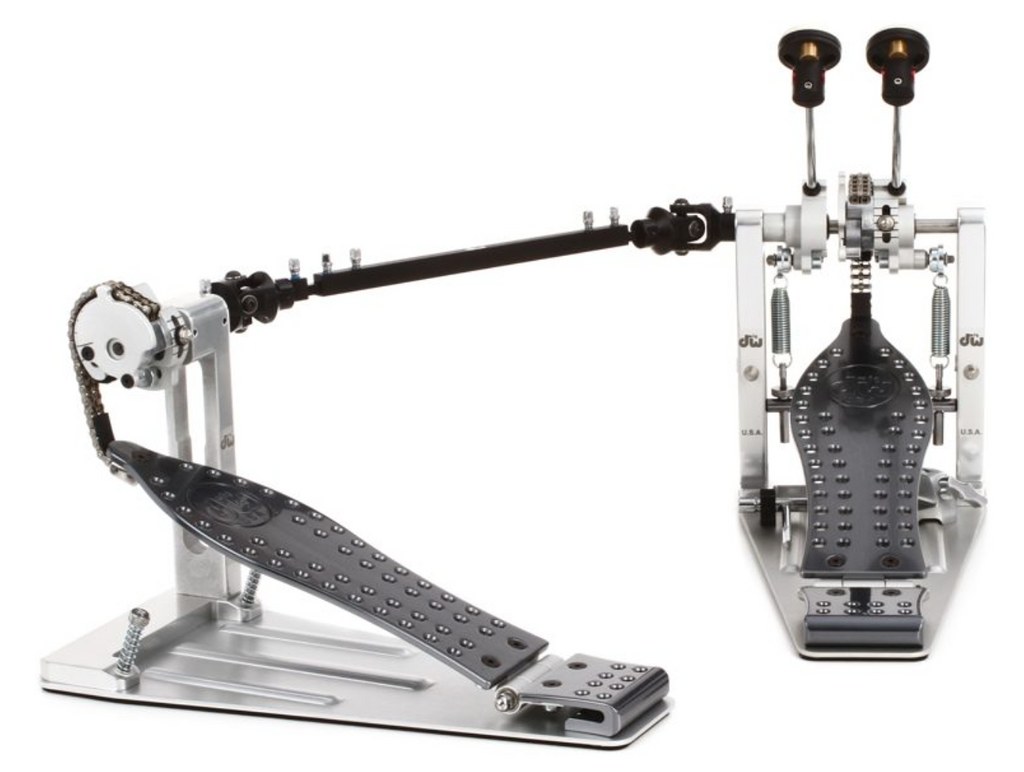 DW Machined Bass Drum Double Pedal - Chain Drive