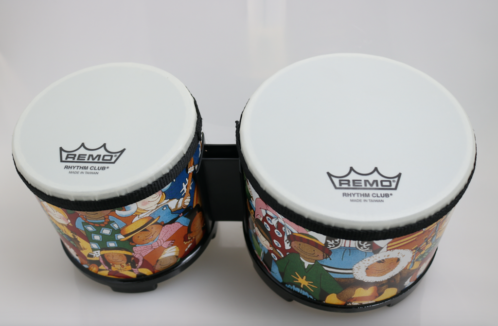 "Remo Rhythm Club RH-5600-00 5"" and 6"" Pre-Tuned Bongos"