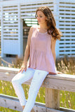 Dreaming of Paradise Tank Top - Pink