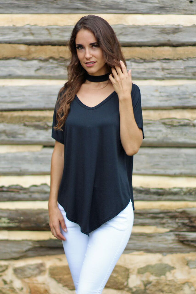 Life of the Party Top-Black