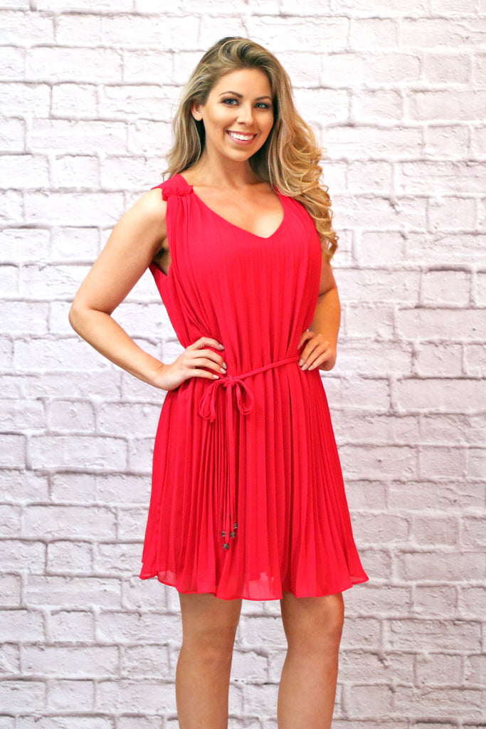 Forever Yours Dress - Hot Pink