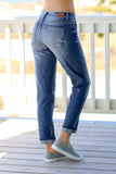 Judy Blue Boyfriend Fit Jean Medium Wash Back View Right