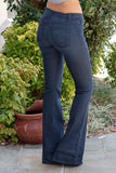 Judy Blue Fitted Trouser Flare Leg Jean