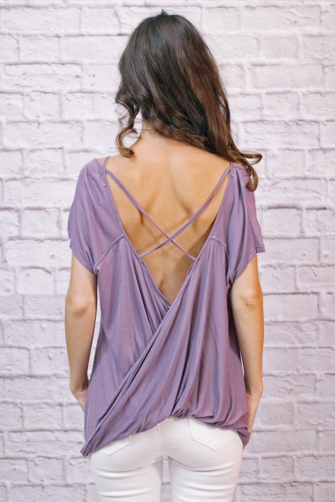 Me And You Rendezvous Top- Purple