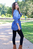 Simply Sweet Ombre Chambray Tunic
