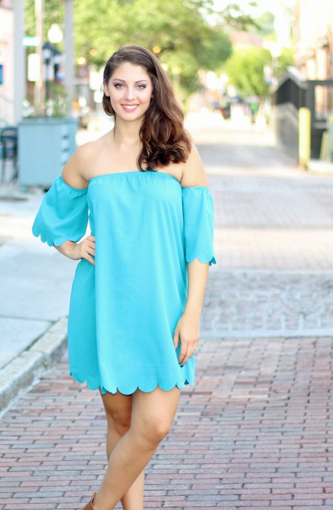 Daydream Dress-Dusty Jade
