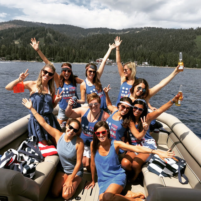 A Patriotic Bachelorette Bash
