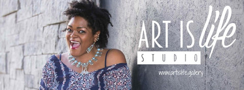 ARTIST FEATURE: Jenice Johnson, Art is Life Studio