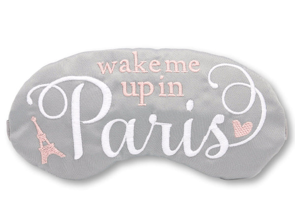 Wake Me Up In Paris Eye Mask