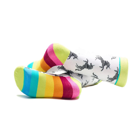 Unicorns and Rainbows Socks