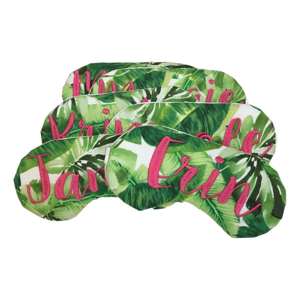 Palm Leaves Sleep Mask