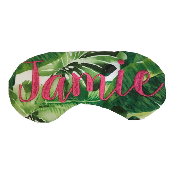 Palm Tree Leaves Eye Mask