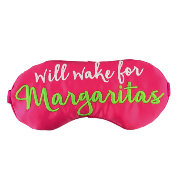 WAKE ME FOR MARGARITAS SLEEP MASK