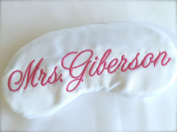 Customized Satin Sleep Mask