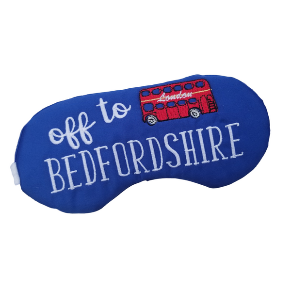 Off To Bedfordshire Sleep Mask