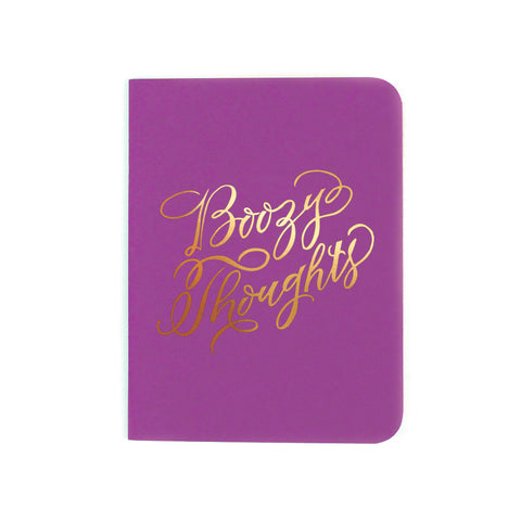 BOOZY THOUGHTS POCKET NOTEBOOK