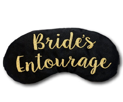 Bride's Entourage Sleep Mask