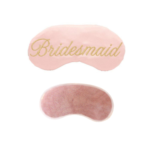 Bridesmaid or Custom Wedding Party Sleep Masks