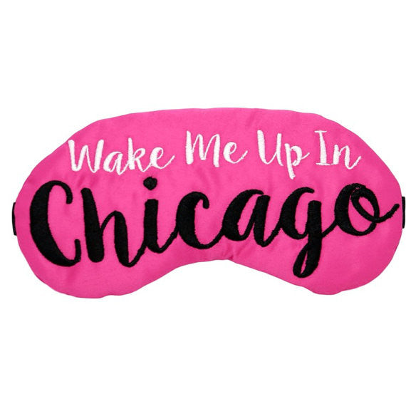 Chicago Sleep Mask Travel Gifts