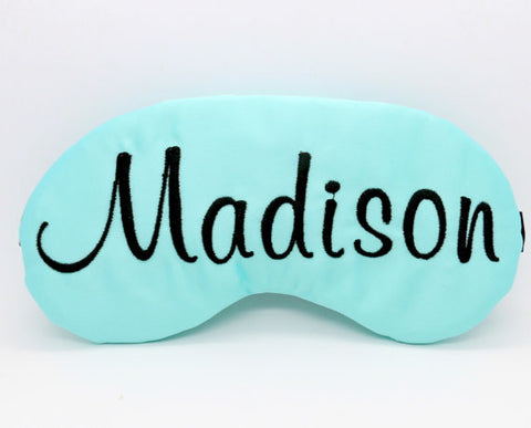 PERSONALIZED SLEEP MASK SLUMBER PARTY FAVORS
