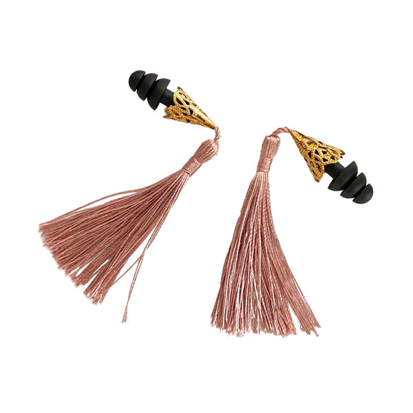 Breakfast at Tiffany's tassel earplugs