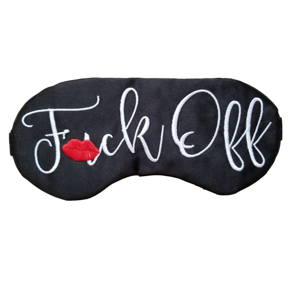 Fuck Off With Lips Sleep Mask