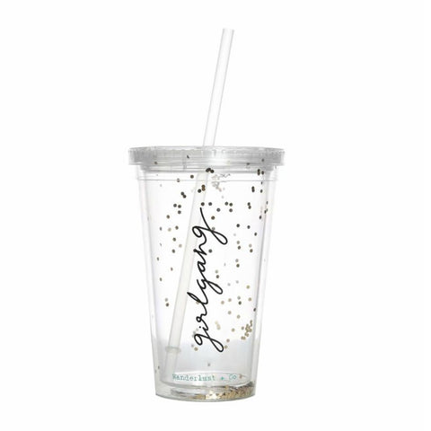 Girlgang Glitter Sippy Cup