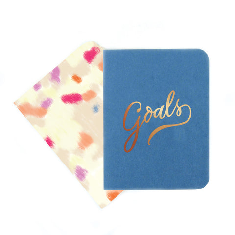 Goals and Funfetti Pocket Notebook Set