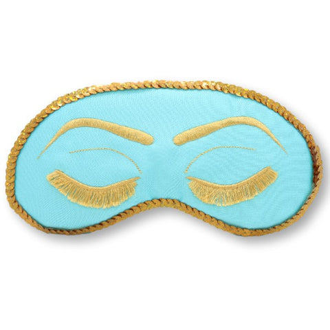 Breakfast at Tiffany's Sleep Mask Audrey Hepburn with Sequins