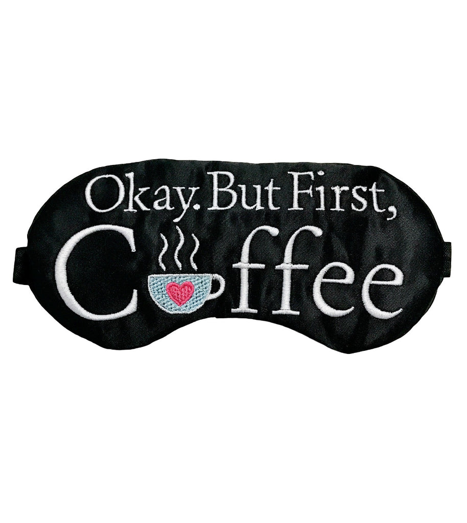 Coffee First Sleep Mask