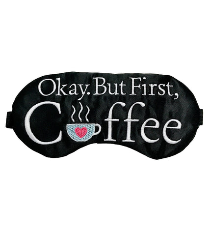 COFFEE FIRST EYE MASK