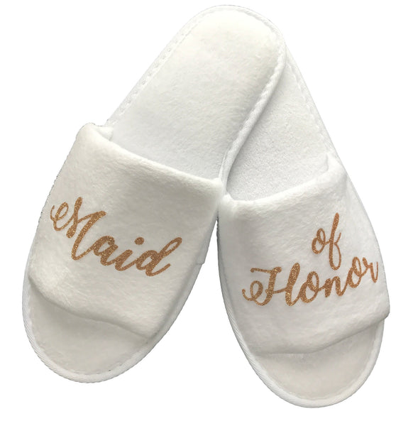 Maid of Honor Slippers