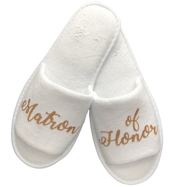Matron of Honor Slippers