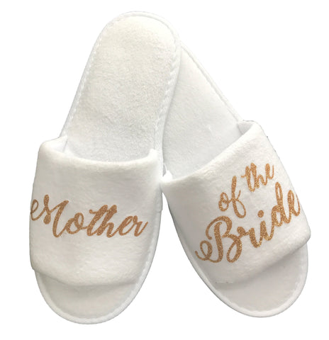 Mother of the Bride Slippers