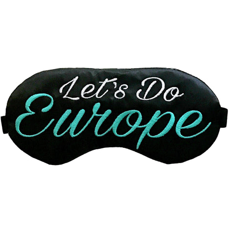 Let's Do Europe Sleep Mask