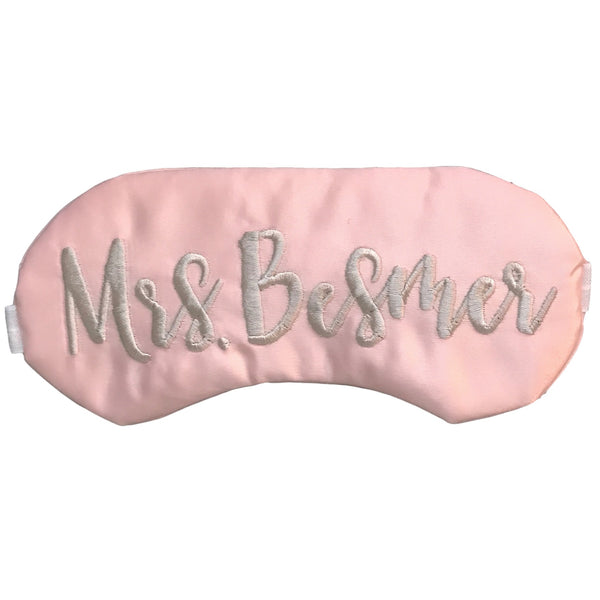Personalized Eye Mask