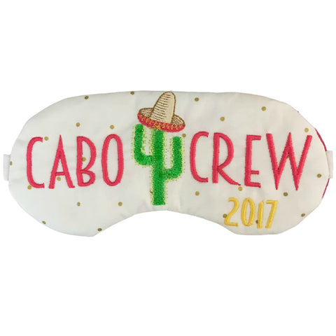 Cabo Crew Cactus Sleep Mask