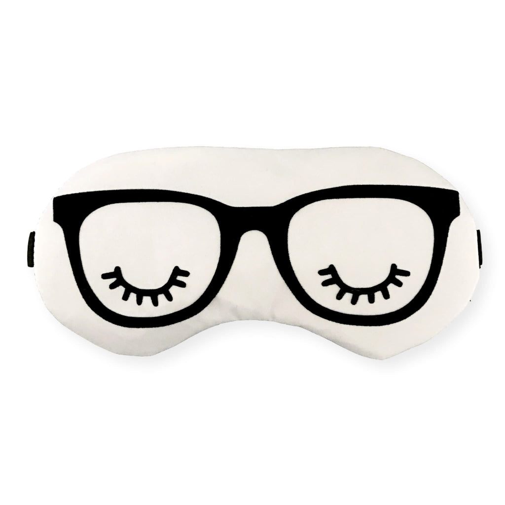 Sleeping in Glasses Eye Mask - Sleep Mask