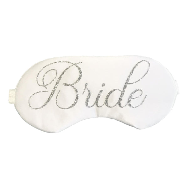 Bride Sleep Mask Silver