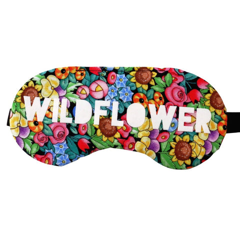 Wildflower Boho Sleep Mask