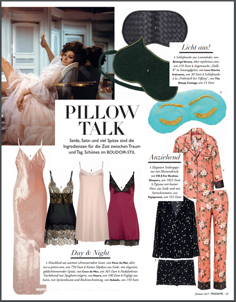 Pillow Talk Inspired By Breakfast At Tiffany's