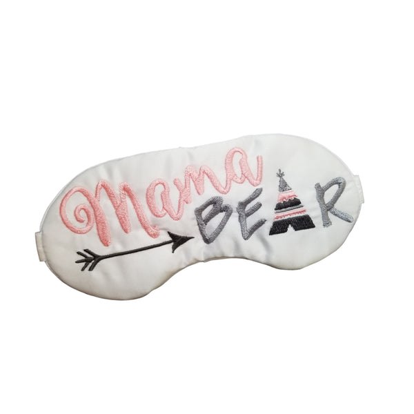 Mama Bear with Teepee Sleep Mask