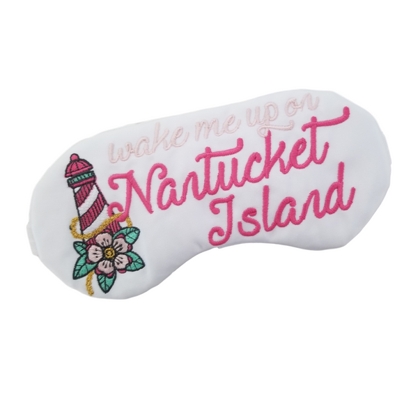 Wake me up on Nantucket Island Sleep Mask