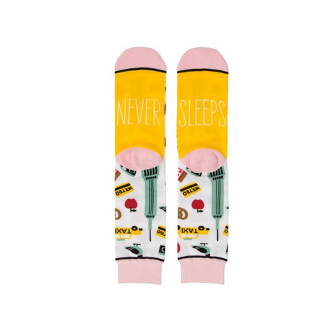 New York (never sleeps) Socks
