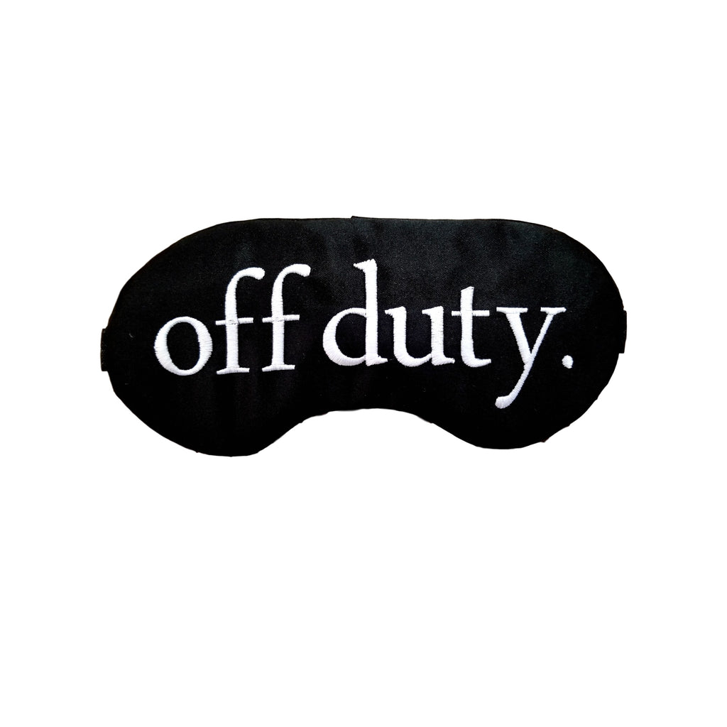 Off Duty Men's Sleep Mask
